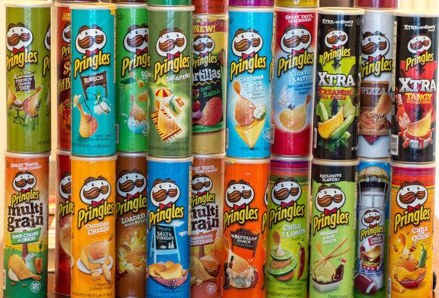 История чипсов Pringles (Принглс) и интересные факты