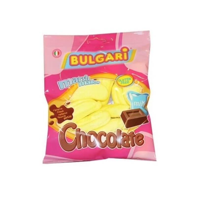 Суфле Bulgari банан с шоколадной начинкой