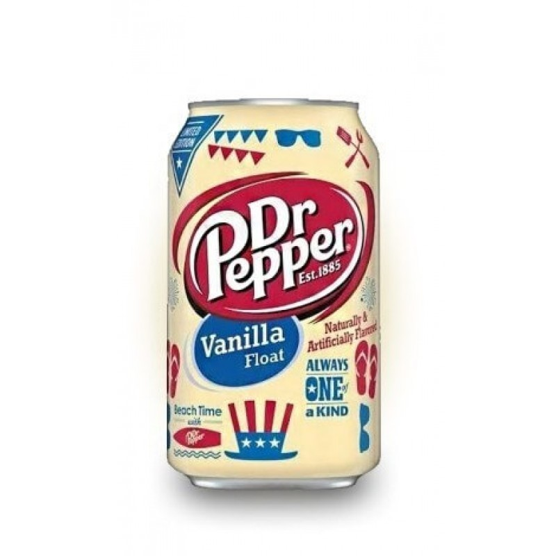Dr Pepper Vanilla Float (Сливочная ваниль) 0,355L