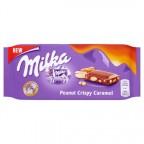 Шоколад Milka Peanut Crispy Caramel