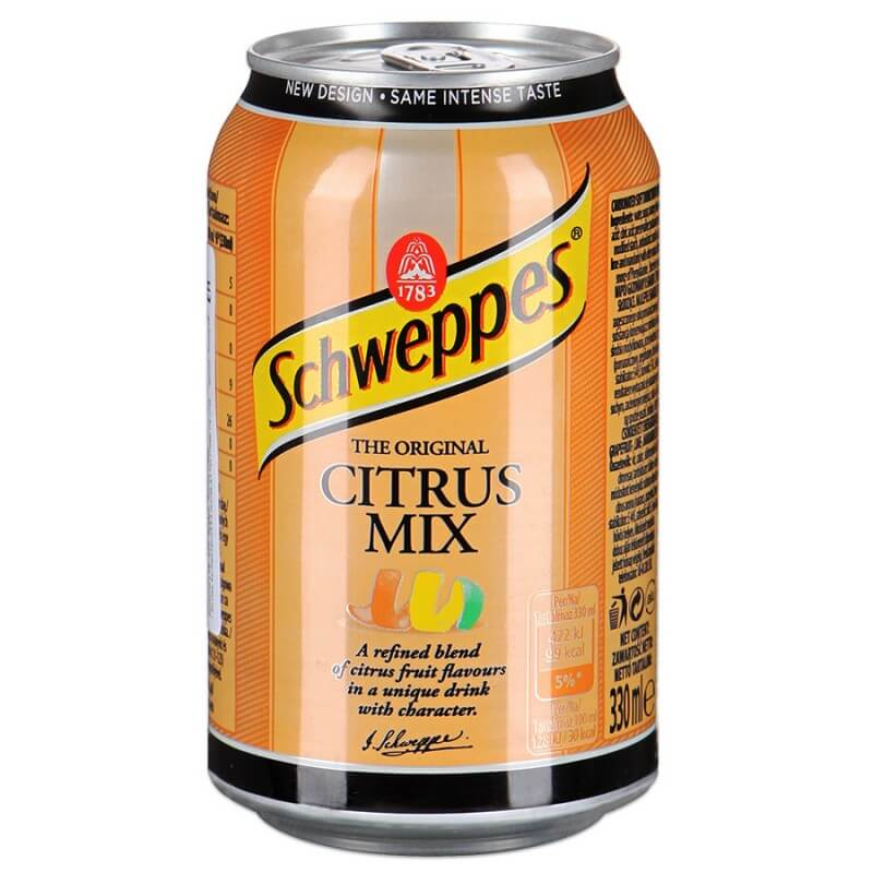 Schweppes Citrus Mix (Цитрусовый микс) 0,33L