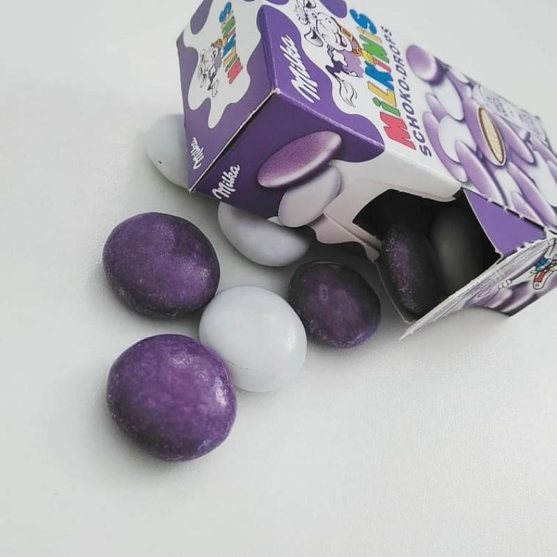 Шоколадное драже Milka Milkinis Schoko Drops