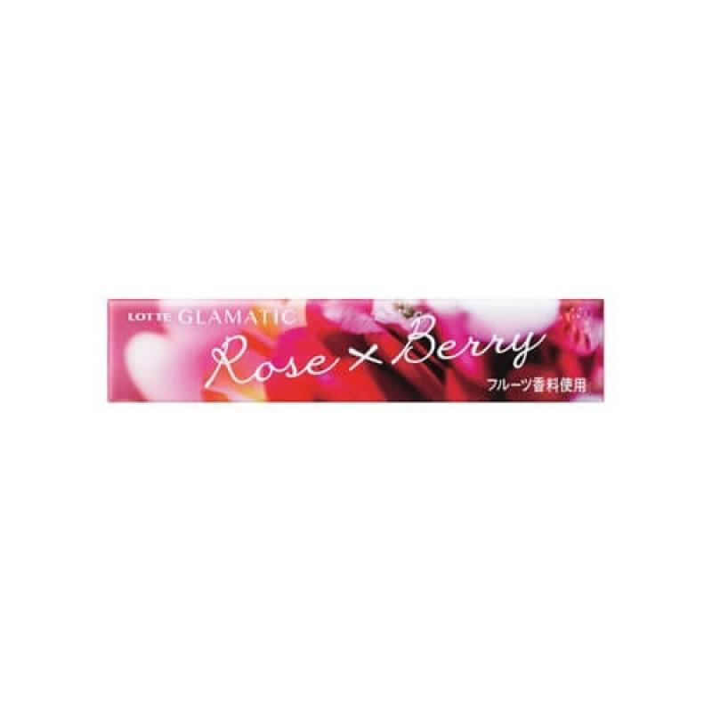 Lotte Glamatic жевательная резинка со вкусом розы и ягод