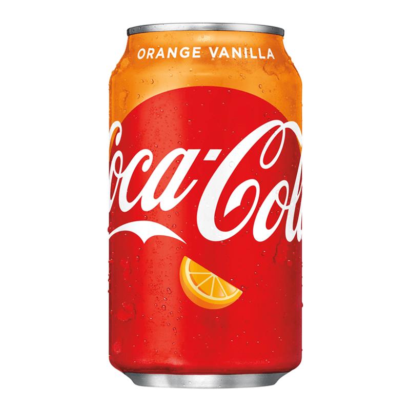 Coca-Cola Orange Vanilla (Ваниль и Апельсин) 0,355L