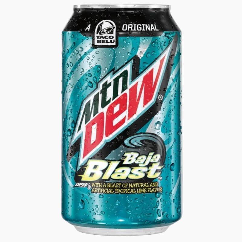 Mountain Dew Baja Blast (Взрыв тропического лайма) 0,355L