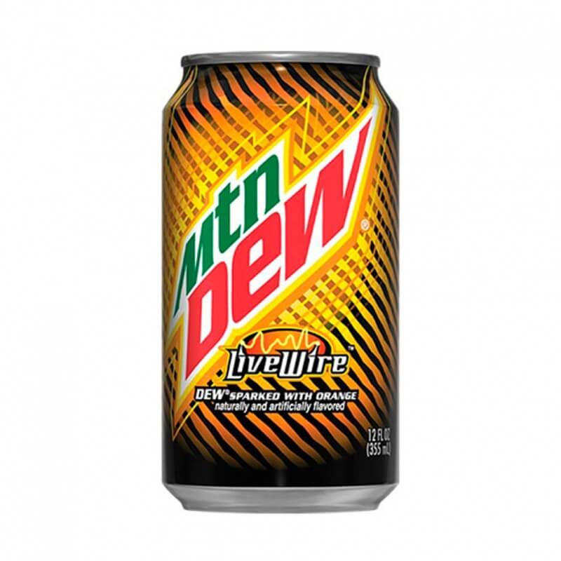 Mountain Dew LiveWire (Апельсин) 0,355L