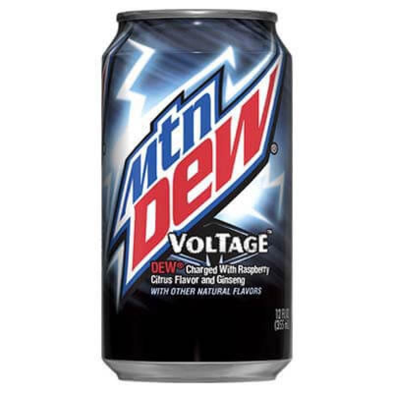 Mountain Dew Voltage (Малина, цитрусовые и женьшень) 0,355L