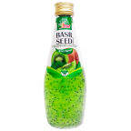 Напиток VINUT со вкусом киви и семенами базилика