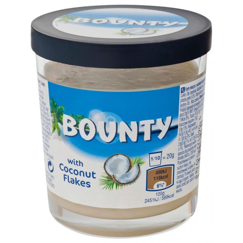 Паста Bounty c кокосовыми хлопьями
