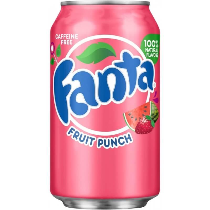 Fanta Fruit Punch (Фруктовый пунш) 0,355L