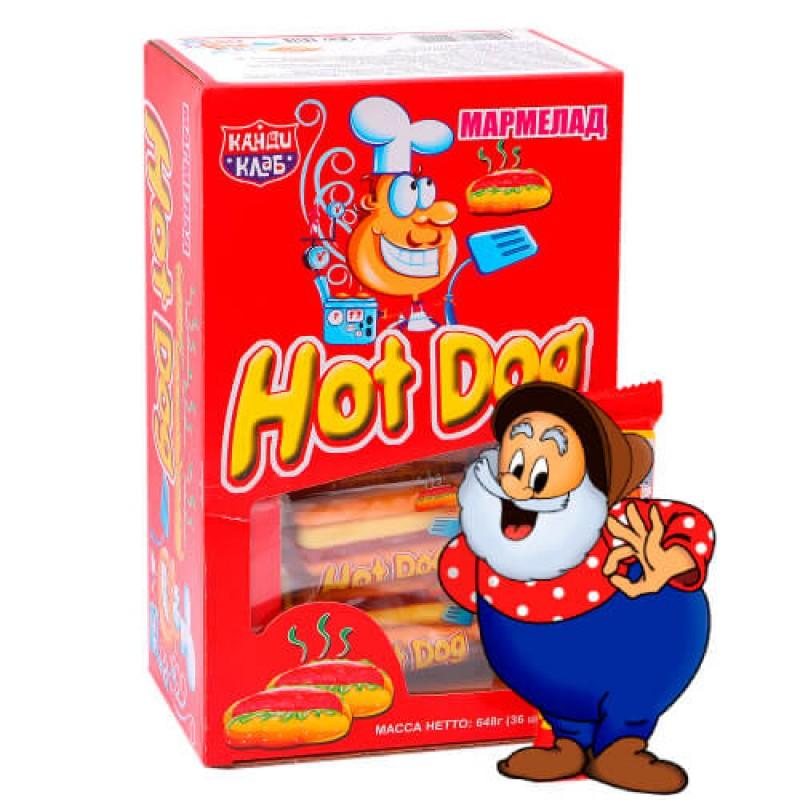 Мармелад жевательный HOT-DOG 18 г