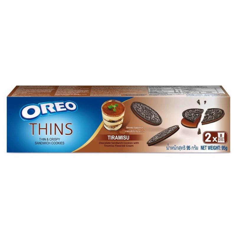 Oreo Thins Vanilla Tiramisu Sandwich Cookies (Тирамису)