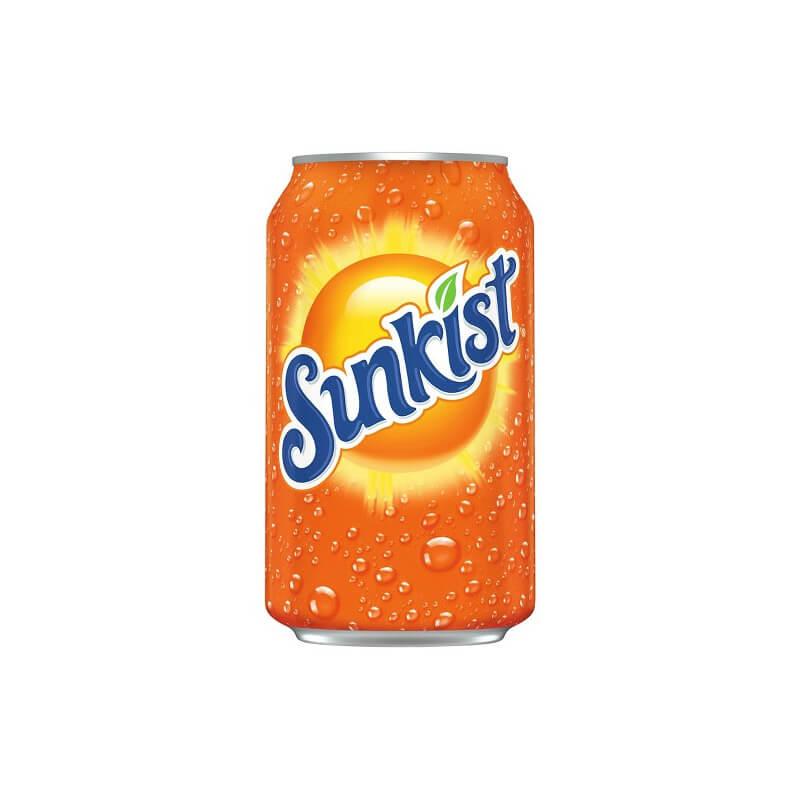 Sunkist Orange (Апельсин) 0,355L