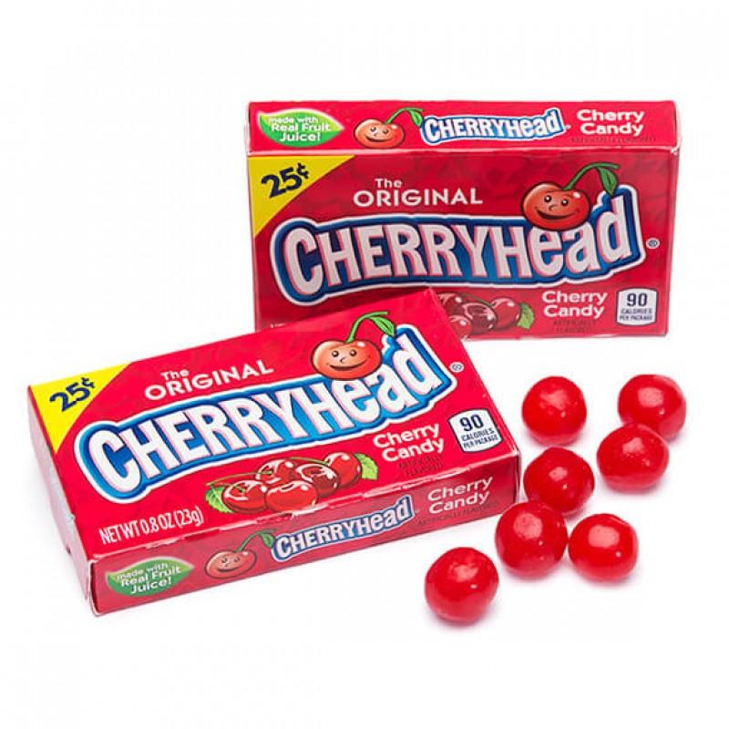 Cherryhead жевательные конфеты 23 г