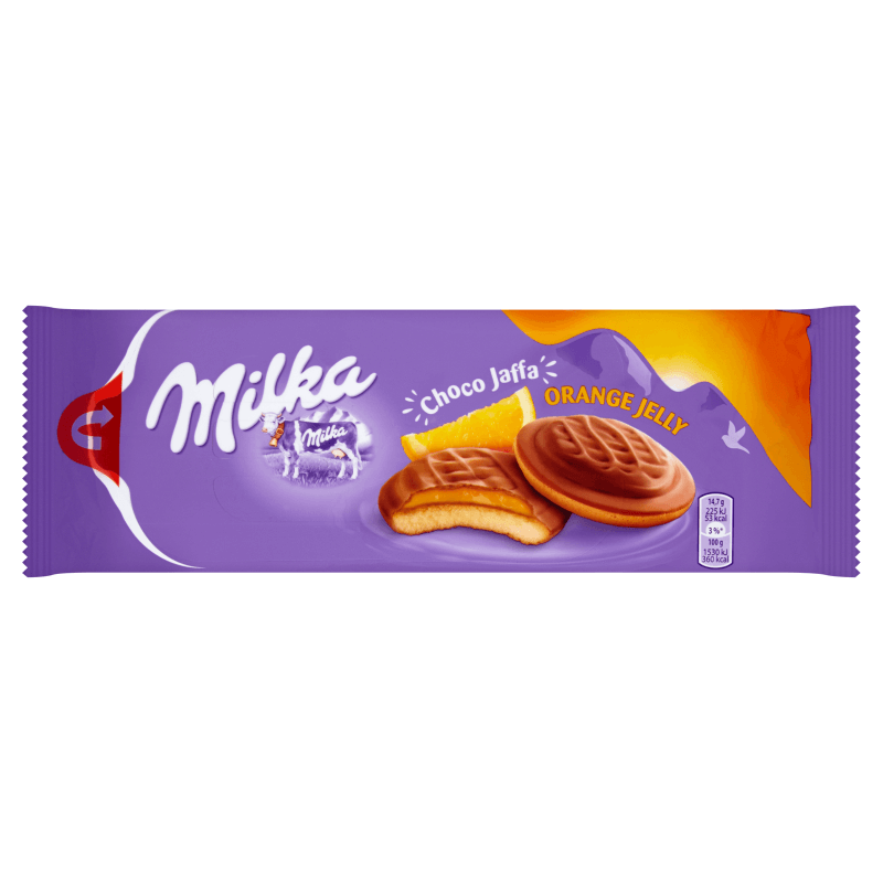 Печенье Milka Jaffa Orange