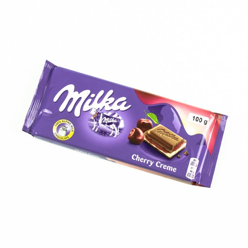 Шоколад Milka Cherry Creme (Вишня)