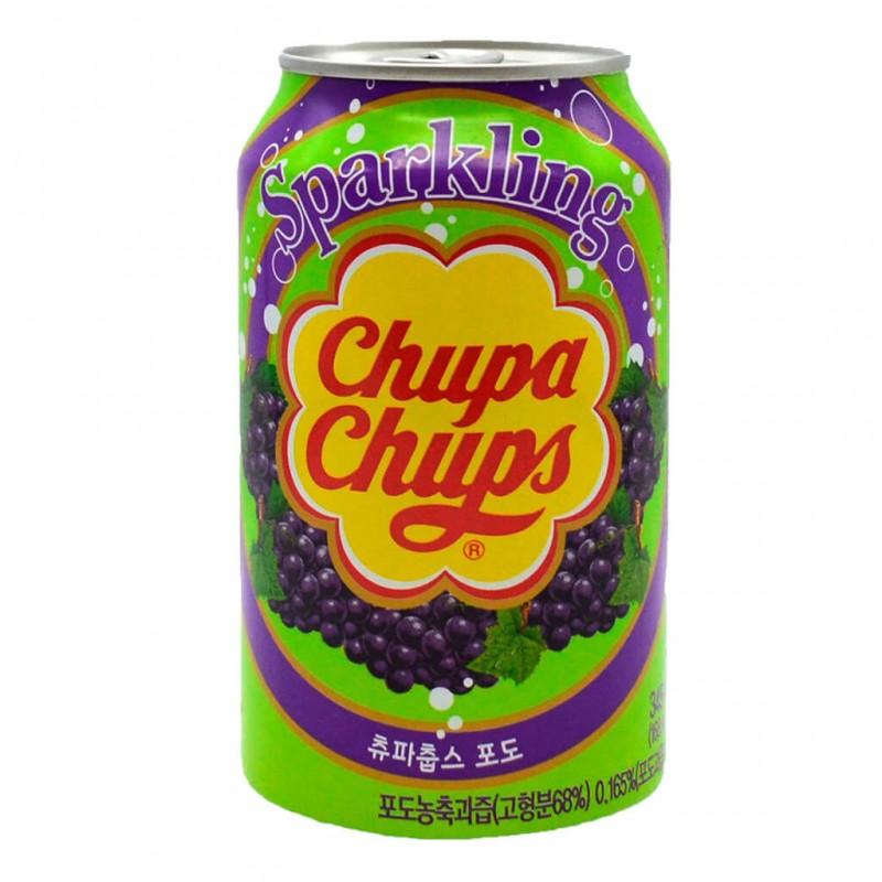 Chupa Chups Sparkling Grape (Виноград) 0,345L