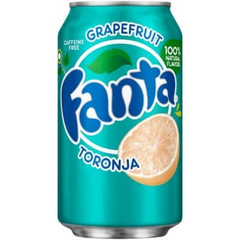 Fanta Grapefruit (Грейпфрут) 0,355L