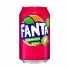 Fanta Strawberry Kiwi (Клубника Киви) 0,33L