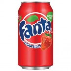 Fanta Strawberry (Клубника) 0,355L