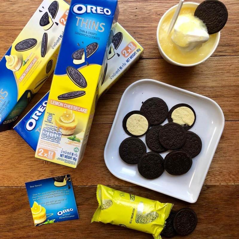 Oreo Thins Lemon Cheesecake (Лимонный чизкейк)