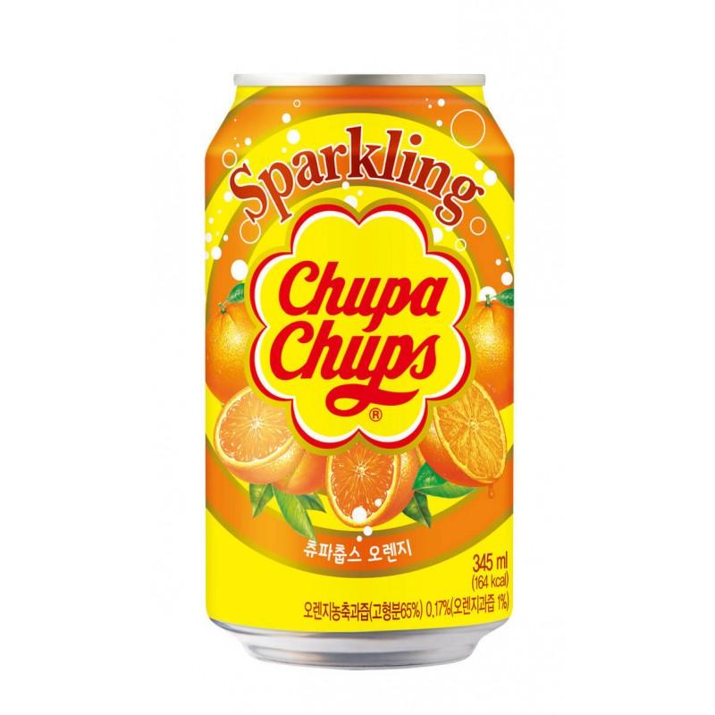 Chupa Chups Sparkling Orange (Апельсин) 0,345L