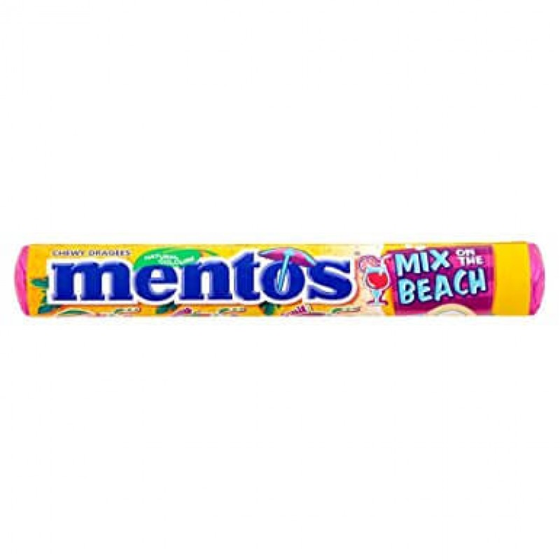 Mentos Mix on the beach