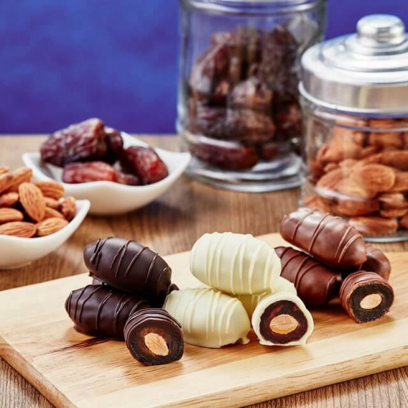 Финики в шоколаде Chocodate Assorted (Ассорти) 100 г