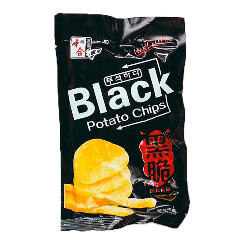 Чипсы Black Potato Chips 18 г