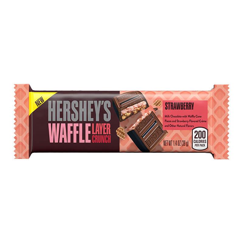 Hershey's Waffle Layer Crunch Strawberry (Клубника) 39 г