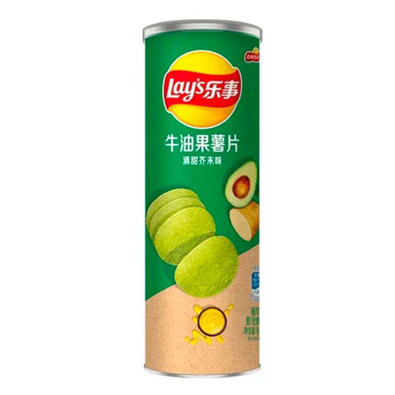 Картофельные Чипсы Lay's Stax Avocado Wasabi (Авокадо С Васаби) 90g