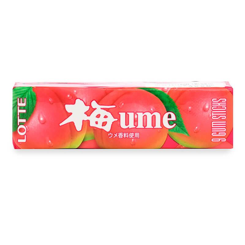 Lotte Жевательная резинка Умэ, со вкусом японской сливы 31 г