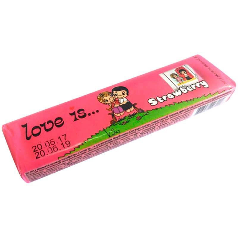 Love is Strawberry (Клубника)  Жевательные конфеты 25 г