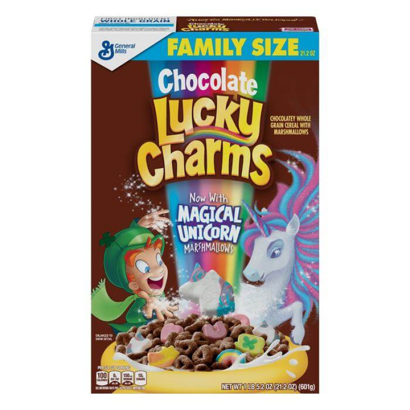 Lucky Charms Chocolate Magical Unicorn (С маршмеллоу) 340 г