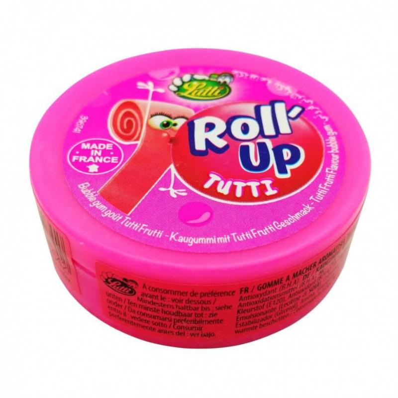 Жевательная Резинка Lutti Roll Up Клубника 29 g