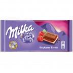Шоколад Milka Raspberry Creme (Малина)