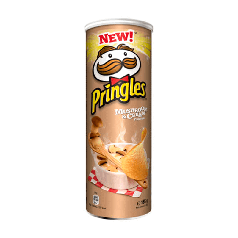 Pringles Mushroom And Cream 165 g