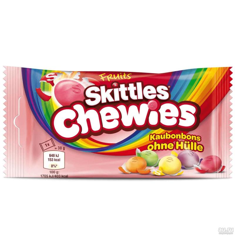 Skittles Chewies 38 g