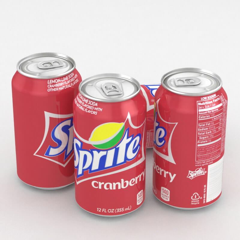 Sprite Cranberry (Клюква) 0,355L