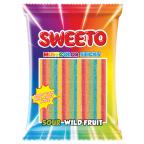 Мармеладные Палочки Sweeto Multicolor Sticks (Кислые Дикие Фрукты) 80g