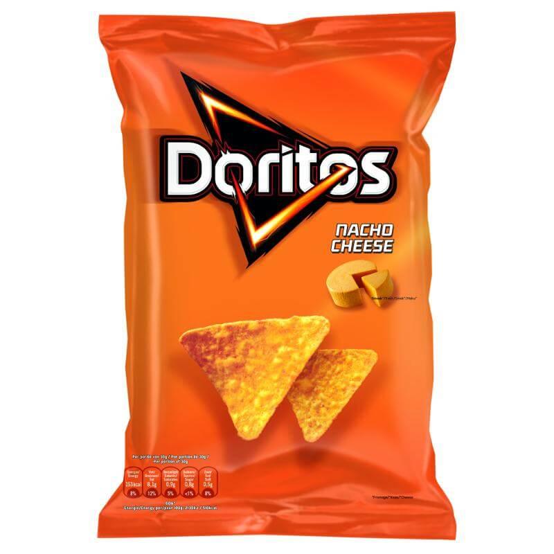 Doritos Nacho Cheese (Сырные)