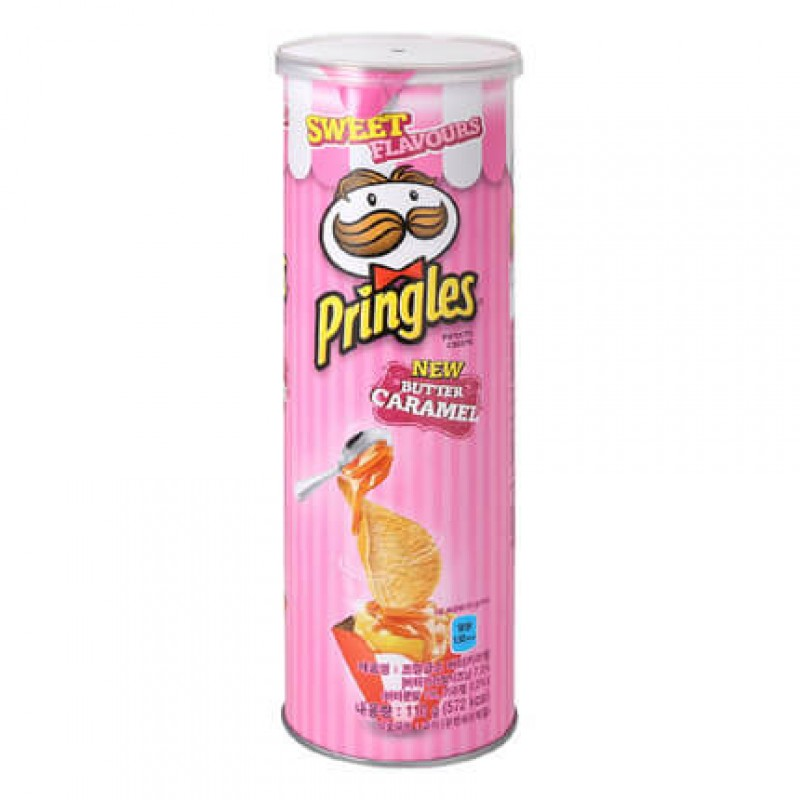 Pringles Caramel Butter (Карамель и масло)