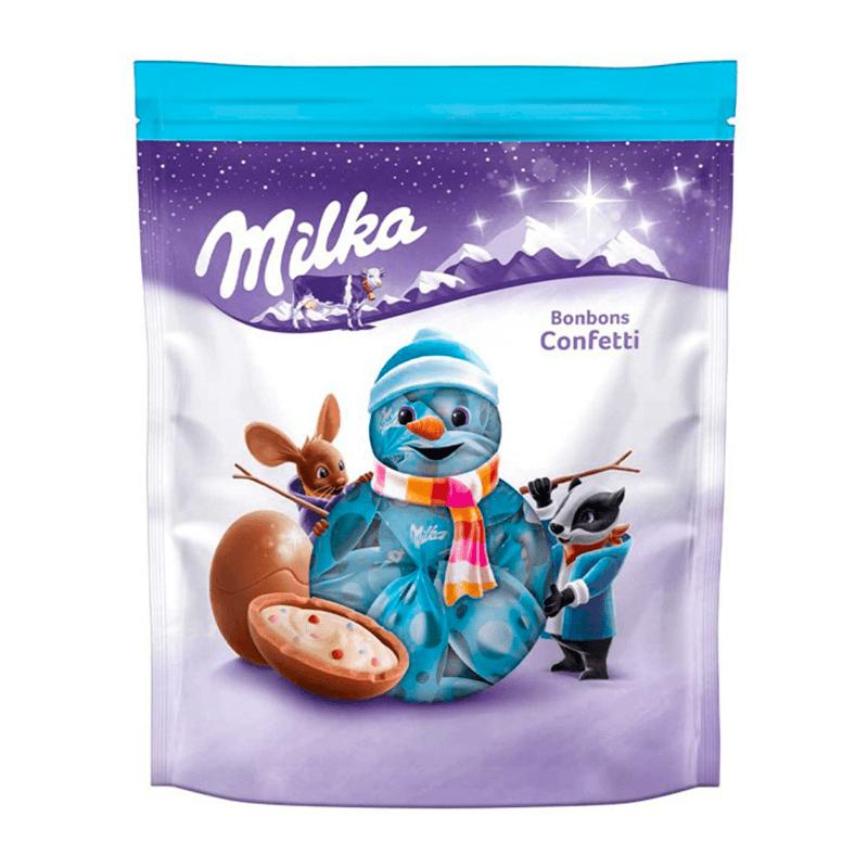 Шоколадные Яйца Milka Bonbons 86g