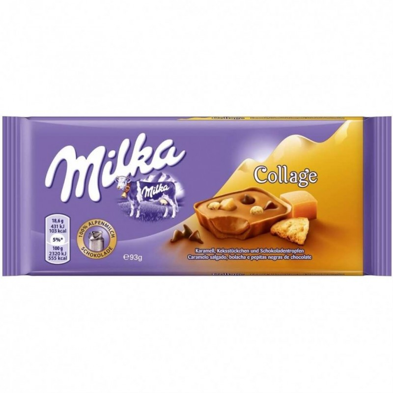 Шоколад Milka Collage Caramel