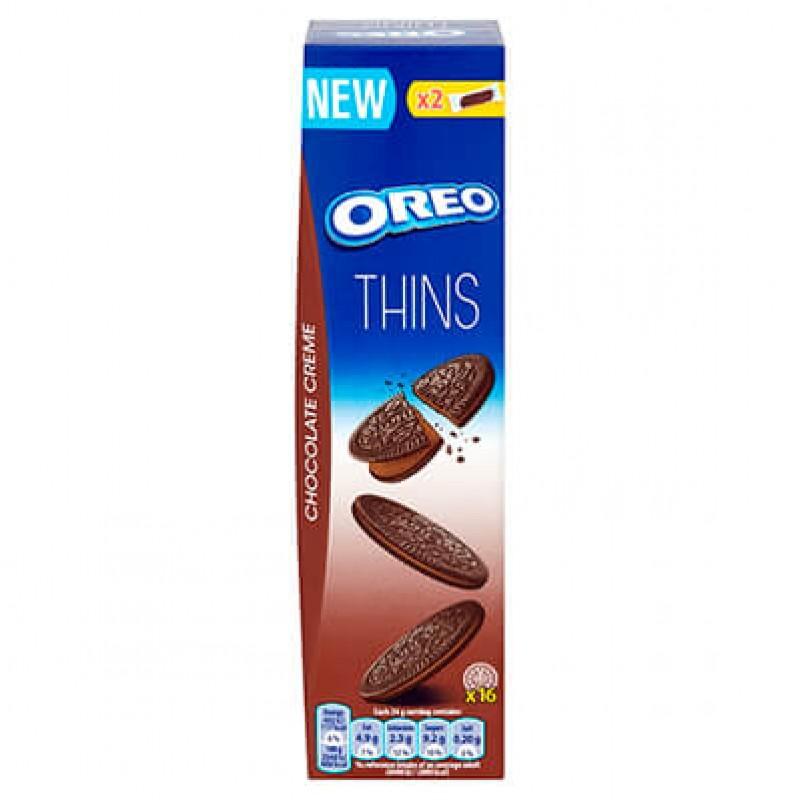 Oreo Crispy & Thin Chocolate Creme