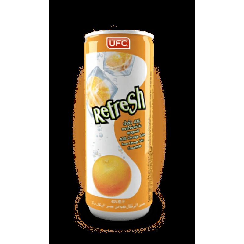 Кокосовая вода UFC Refresh 40% Orange Juice (Сок апельсина)